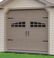 Pine Creek Structures Garage Door Options
